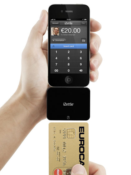 izettle mobile credit card reader