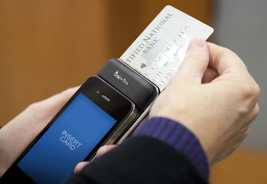 Accept Credit Card Payments on Smartphone