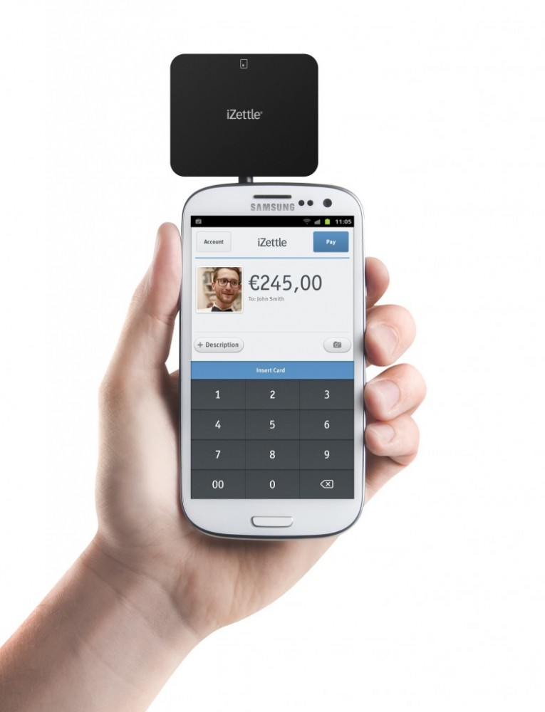 iZettle Android Card Reader
