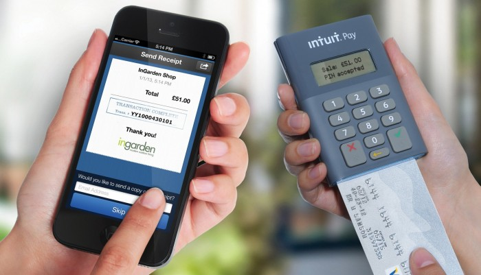 Intuit Pay Credit Card Reader