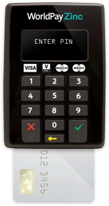 worldpay mobile card machine