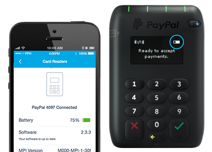 PayPal Here Card Machine