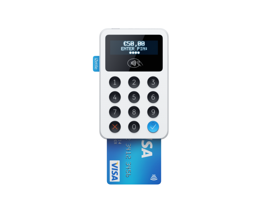 iZettle Contactless Card Reader